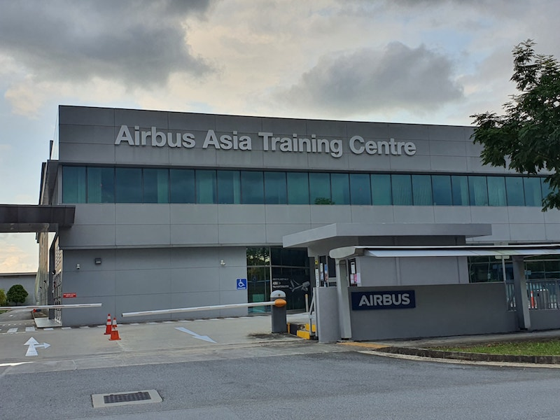 AirBus Asia Training Centre at Seletar Aerospace Near to Parc Greenwich